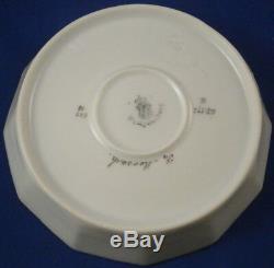 Nymphenburg Porcelain Pearl / King's Service Cup & Saucer Porzellan Tasse German