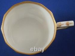 Nymphenburg Porcelain Pearl / King's Service Mocha Cup & Saucer Porzellan Tasse