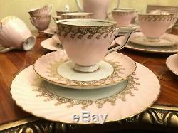RARE! Royal 12 cups 12 saucers Königlich Porzellan Tettau Coffee Full Set