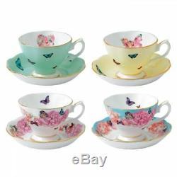 Royal Albert Miranda Kerr Teacups and Saucers (Set of 4)