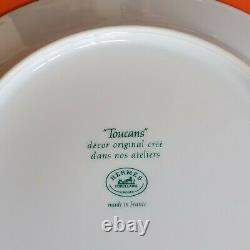 Set of 2 Hermes Toucans Plates