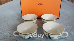 Set of 4 Hermes Toucans Cups