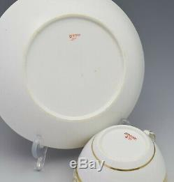 Spode Porcelain Bute Tea Cup & Saucer Gilded Pattern 471 c. 1805-1810