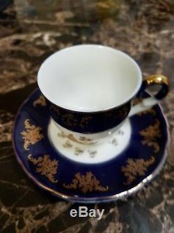 Turkish coffee cup & saucer set 12Pcs