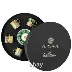 Versace Jungle Animalier Set of 6 Espresso Cup with 6 Saucer