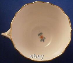 Vintage 20thC Meissen Porcelain Cup & Saucer Yellow Tiger Porzellan Tasse German