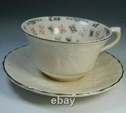 Vintage Cup of Knowledge Fortune Telling Porcelain Alfred Meakin England 1920's