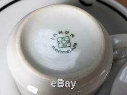 Vintage Hotel Nacional de Cuba Espresso Coffee Cup Saucer Set