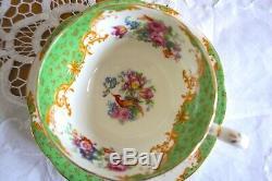 Vintage Paragon Porcelain Rockingham Tea Service Set with 2 Cups & Saucers 7pc