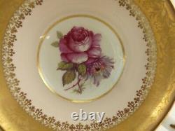 Vintage Paragon Tea Cup & Saucer Porcelain Pink Rose gold trim